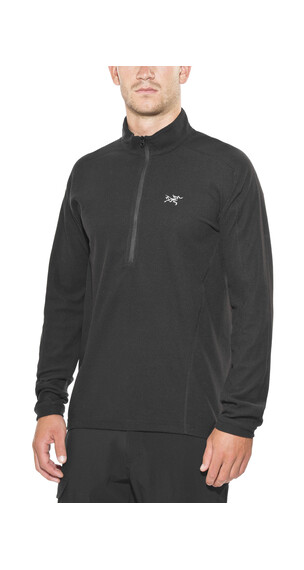 Arc'teryx Delta LT Zip Pullover Men Black